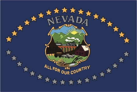 official state flags of nevada. | nevada trivia